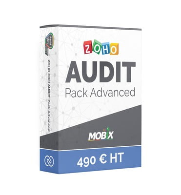"ZOHO AUDIT Pack ""Advanced"" 490 € HT"